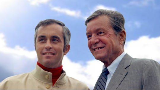 After he and his team first arrived at IMS, Roger Penske (left) and then-track owner Tony Hulman became fast friends, not knowing one day Penske would take purchase the Racing Capital of the World from the Hulman-George family.