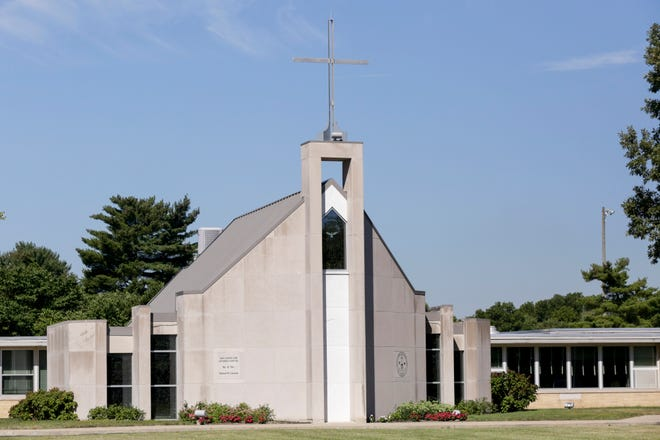 The Central Catholic Jr/Sr High School chapel, 2410 S 9th St., Friday, Aug. 21, 2020 in Lafayette.