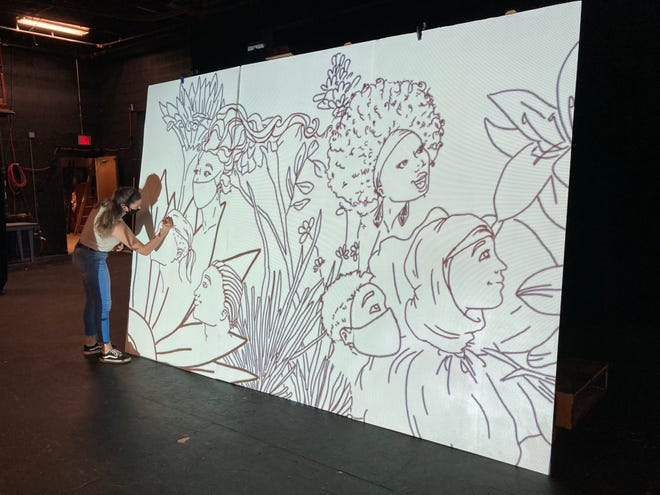 The Ohio State University Mansfield is focusing on social justice in two upcoming arts projects including a mural painting and virtual theater performance.