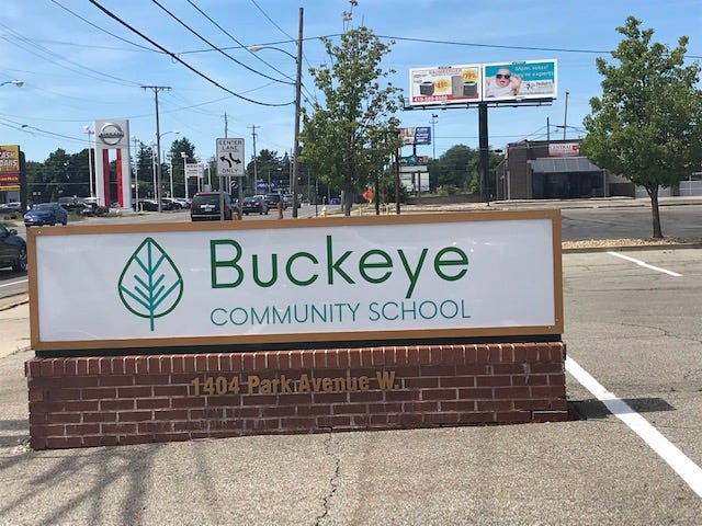 The Buckeye Community School Mansfield location. The alternative school also has a location in Marion at 196 S. Main Street.