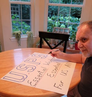 Sussex residents Tony and Linda Perella are organizing a rally for 11 a.m. Saturday, Aug. 22,  across the street from the Sussex Post Office to support postal workers.