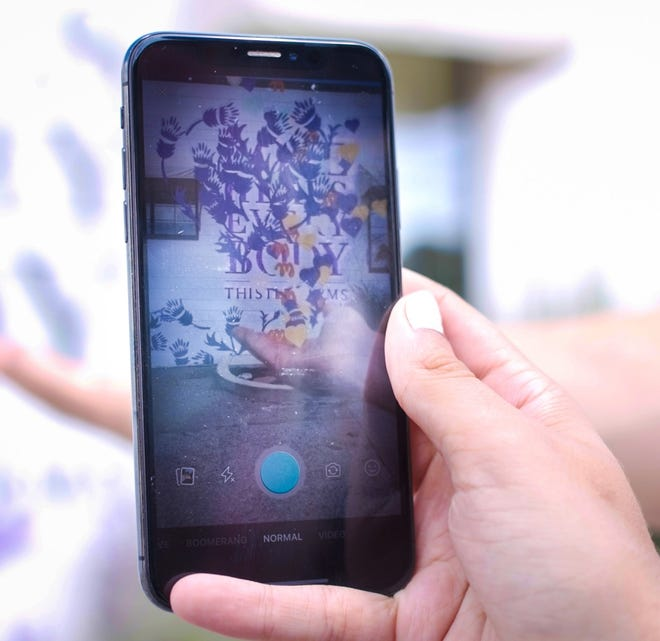 A scavenger hunt featuring augmented reality will bring some of Nashville's murals to life from Sept. 1 through Sept. 30, 2020.