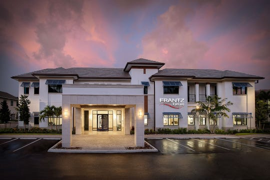 Stevens Construction has completed construction of a new, two-story, 21,400-square-foot medical office for Frantz EyeCare in Naples and should be finished inside with the second floor by fall.