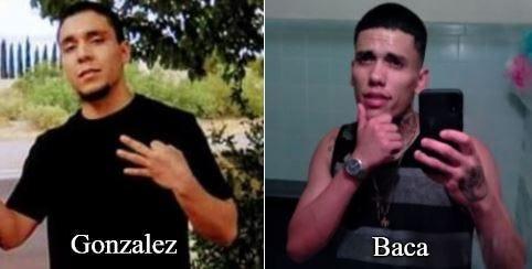 Jacob Gonzalez and Nathaniel Baca