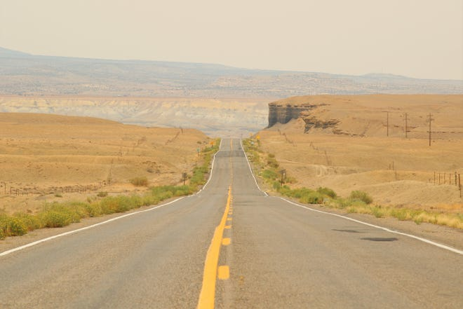 A section of U.S. Highway 64 is pictured on Aug. 19.