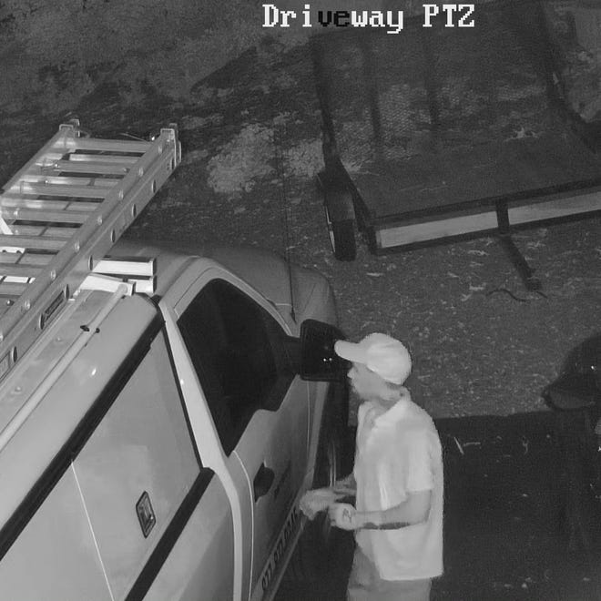 Springettsbury Township Police are seeking to identify this person in connection to a theft from a vehicle.
