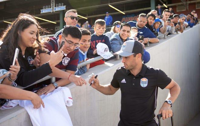 San Diego Loyal, in its first USL season, is coached by U.S. soccer legend Landon Donovan.