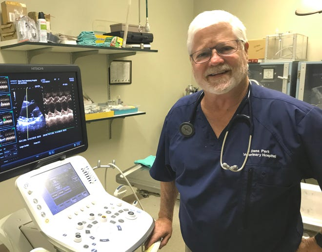Dr. Ken Haynes is retiring as a veterinarian from the Dana Park Veterinary Hospital.