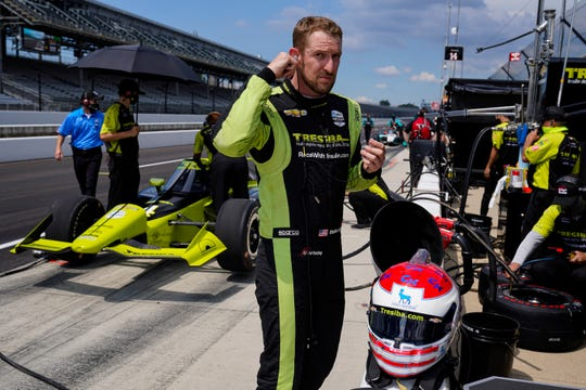 Camarillo native Charlie Kimball will compete in his 10th Indianapolis 500 on Sunday.