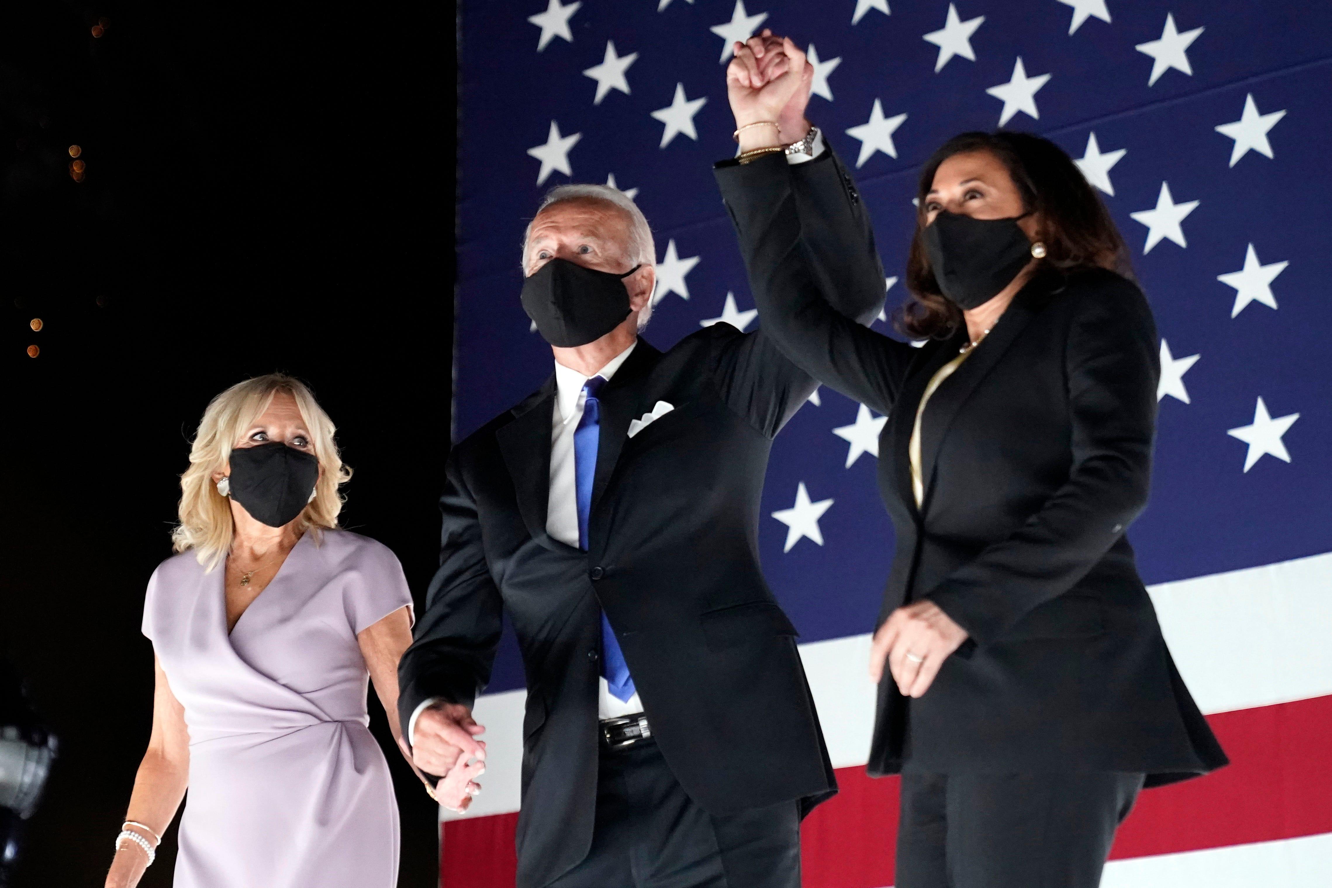 Joe Biden Claims Democratic Nomination During Dnc Speech