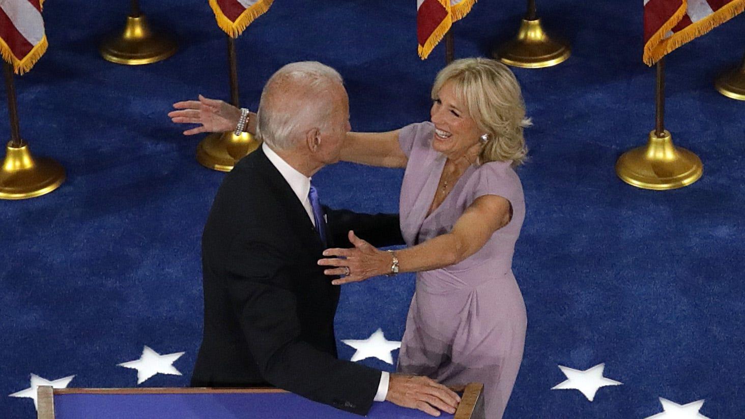 Joe Biden Accepts Nom Julia Louis Dreyfus Jokes Other Dnc Takeaways