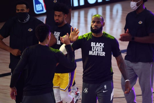 LeBron James spoke out about a group using his image to discourage mail-in voting.