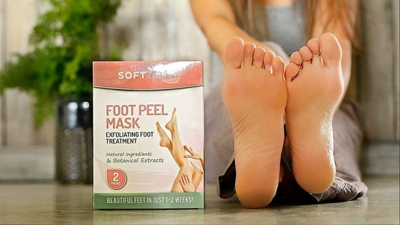Treat your feet with this peel.