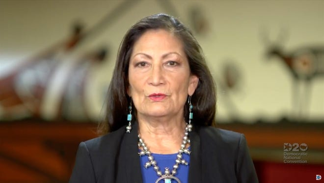 President Joe Biden in December nominated Rep. Deb Haaland for Secretary of Interior. Montana's Rep. Matt Rosendale signed a letter calling for the withdrawal of her nomination.