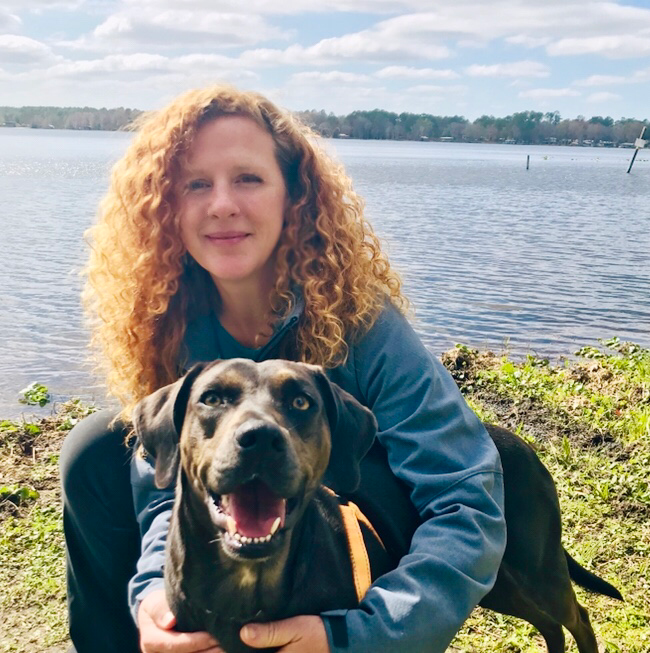 Kate Estes, of St. Augustine, Fla., is one of the thousands who so far have volunteered to take part in a clinical trial for a COVID-19 candidate vaccine.
