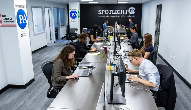 Spotlight PA is the largest newsroom dedicated solely to reporting on the state government and urgent statewide issues. The Times and The Ledger have joined the Spotlight PA corps.