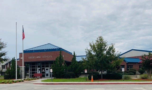 Ridgeland Elementary School was set to reopen Monday. It was closed last week after several staff members tested positive for COVID-19.