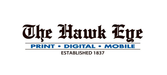 The Hawk Eye newspaper