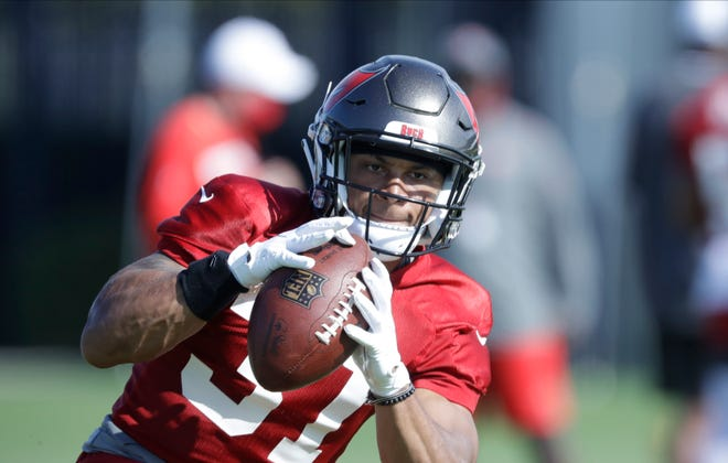 Tampa Bay Buccaneers safety Antoine Winfield Jr. (31) figures to be a big part of the Bucs' starting defensive backfield this year.