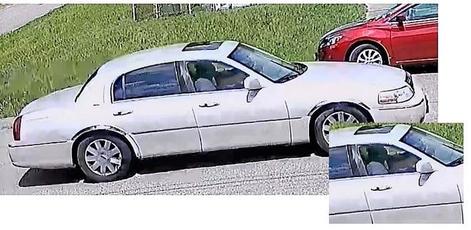 Hopewell Police have released a clearer photo of the vehicle that was seen leaving the area of Central Avenue around the time of the shooting. Two people appear to be inside.