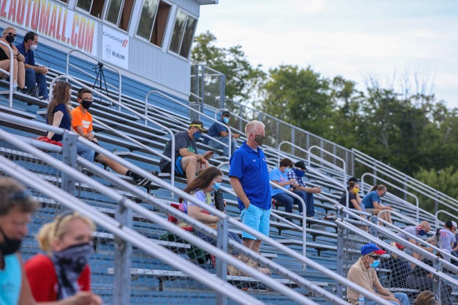 High school athletic stands will be largely empty this season, but not for lack of support. A recent Ohio Department of Health order requires schools to limit their ticket sales to 15% of their venue capacities, resulting in revenue losses for local athletic departments.