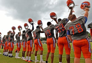 High school football teams in Manatee County can begin playing games Sept. 18.