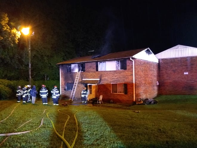 Tucker Street Apartments caught fire on Friday, Aug. 21.