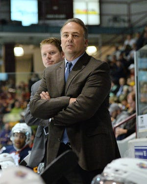 Hockey Hall of Famer Dale Hawerchuk was the coach of the Barrie Colts of the Ontario Hockey League for nine seasons.