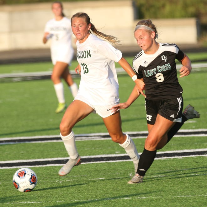 Madison's Taylor Huff has the Lady Rams sitting atop the OSSCA Polls in Week 1.