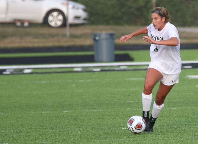 Madison's Chesney Davis scored a goal in a key win over Ashland on Thursday evening.