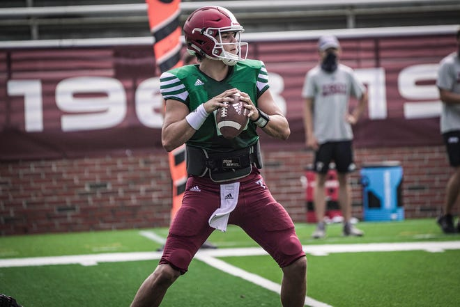 """Troy head football coach Chip Lindsey on newly named starting quarterback """"Throughout the whole camp and preseason practice (Gunnar) has been the most consistent quarterback. Gunnar has to do a good job to keep that spot but we will go with him in game one as our starter."""