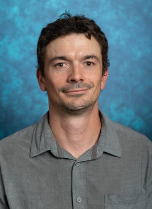 Erik Yukl, associate professor in New Mexico State University's Department Chemistry and Biochemistry. Under a grant of just under $1.3 million from the National Institutes of Health, Yukl is researching zinc transporter mechanisms that may lead to novel antibiotics, which target antibiotic resistant bacteria.