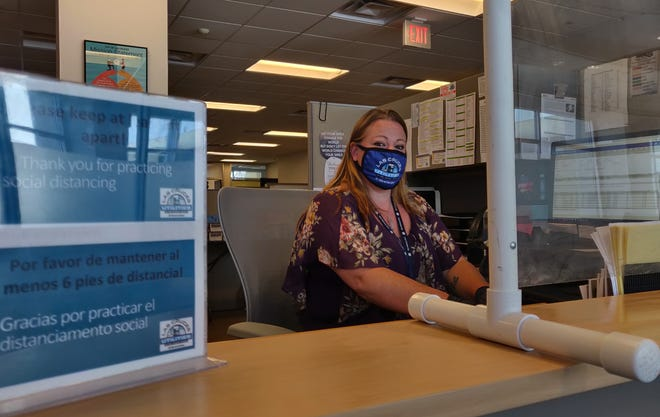 Las Cruces Utilities and South Central Solid Waste Authority will be adding two new customer service representatives, like Laura Loose — part of the Customer Central program at City Hall — to answer questions about trash, recycling and more, to make getting information quicker and more efficient.