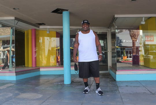 Willie Holland will be opening a second cannabis dispensary to be called Holland Pharms at this location in downtown Palm Springs, July 21, 2020.