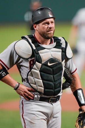 Diamondbacks catcher Stephen Vogt signed a one-year, $3 million deal in November with an option for 2021 — an option that automatically vested earlier this month based on games started.