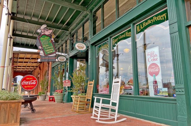 The storefront of the Eggemeyer's General Store in downtown San Angelo can be seen in this Thursday, Aug. 20, 2020 photo.