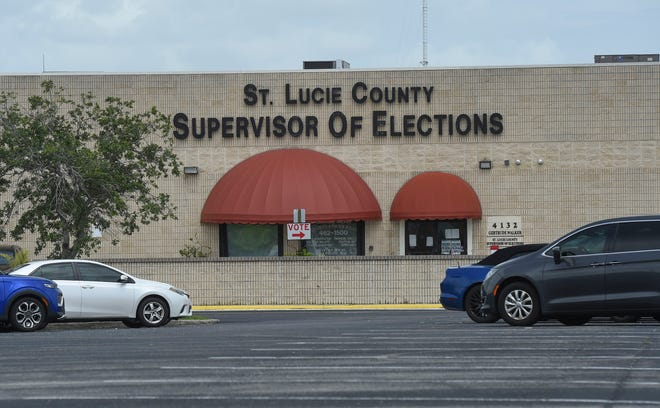 The St. Lucie County Supervisor of Elections Office recount of the St. Lucie County Commission District 1 Democratic primary on Saturday, Aug, 22, 2020, between incumbent Chris Dzadovsky and retired Army Capt. Robin Bynoe. Around 55,000 ballots are being recounted for the race which goes to the state mandated recount because the vote difference is less than half a percent.
