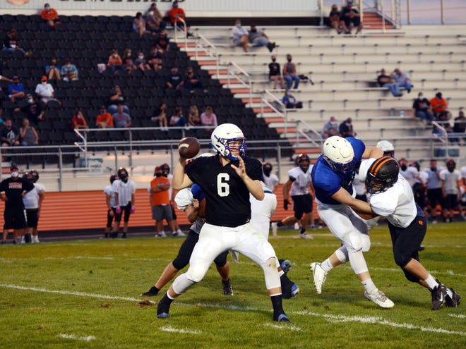 Ridgewood and Zanesville held scrimmage on Friday night in West Lafayette. It was the first scrimmage that teams were permitted in 2020 due to COVID-19 restrictions. Schools will be allotting vouchers to athletes and participants for every event.