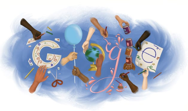 Buchholz High School student Chloe Greene's Doodle for Google contest submission. [Special to The Sun]