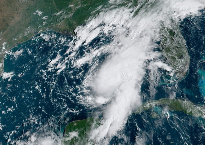 Tropical Storm Marco is expected to become a hurricane Sunday, with expected landfall on Monday in Louisiana.
