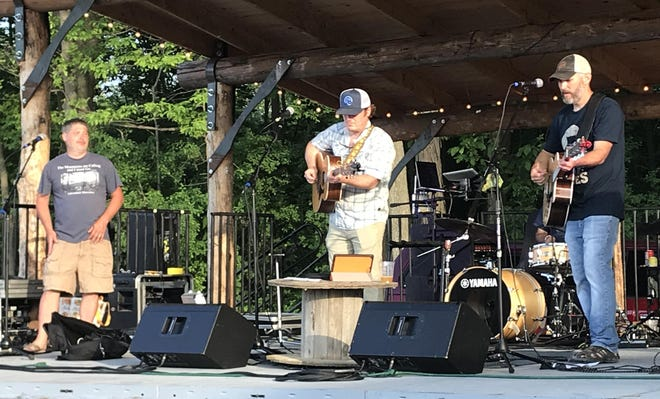 A June concert at Lincoln Hill Farms in Gorham. Owner Brian Mastrosimone said the venue has seen only 20% of its projected revenues for this year.