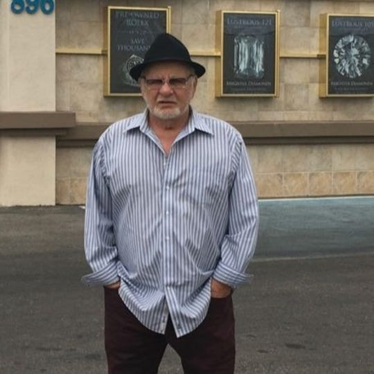 Frank Cullotta, in 2016, stands in front of the former Bertha's Gifts and Home Furnishings store in Las Vegas. Cullotta's Hole in the Wall Gang burglary ring was busted trying to enter Bertha's on July 4, 1981. Cullotta died Aug. 20 at 81.