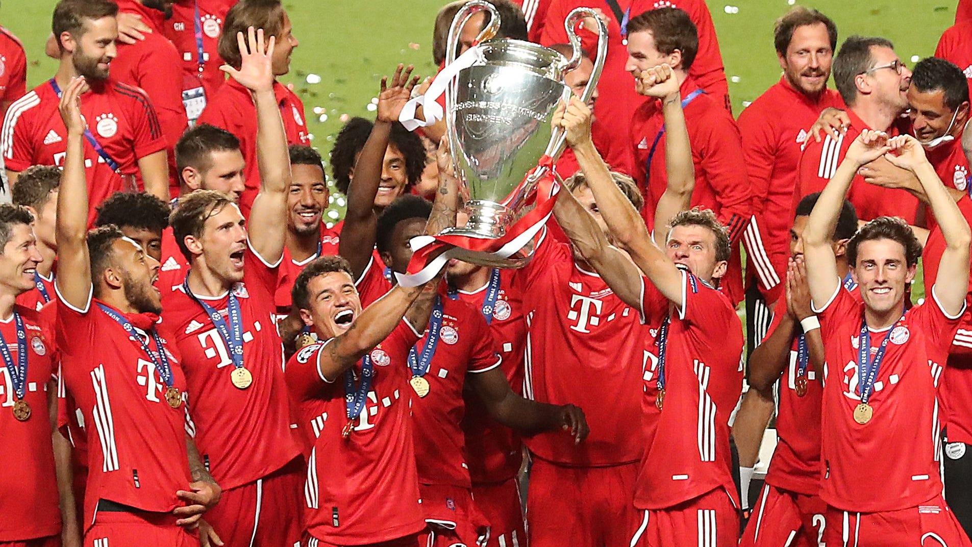 2020 champions league final bayern munich tops paris saint germain 2020 champions league final bayern