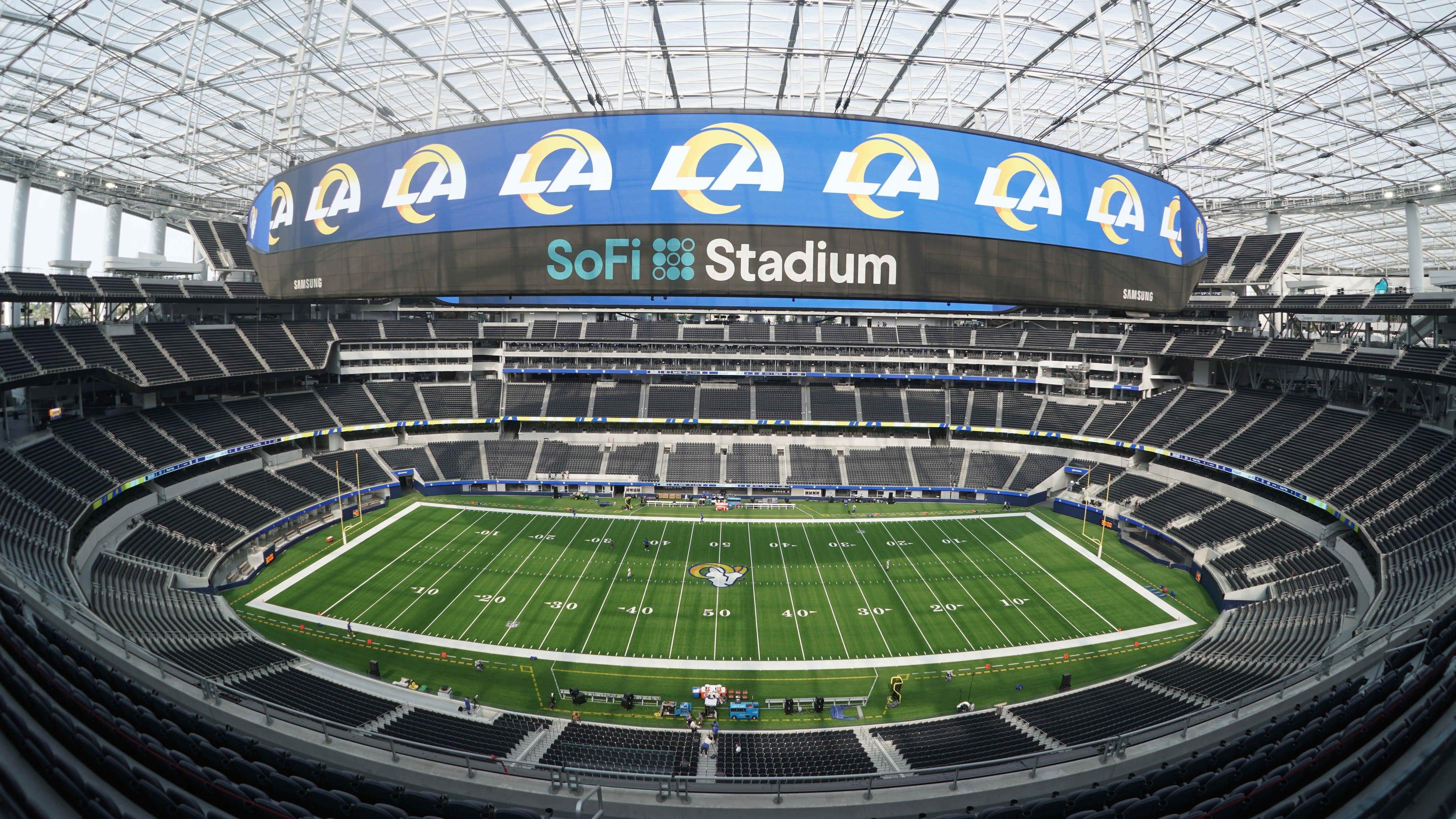 SoFi Stadium: $5 billion stadium to open Sunday in NFL Week 1