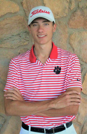 Moon's Justin Scally shot a 5-over 76 Tuesday at the PIAA 3A boys golf championships.
