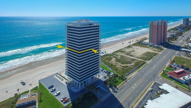 An elevator takes you up to the front door of this luxurious condominium in the Aliki Forum, an exclusive and secure oceanfront community that only has two units on each floor.