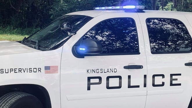 A Kingsland Police Department cruiser.
