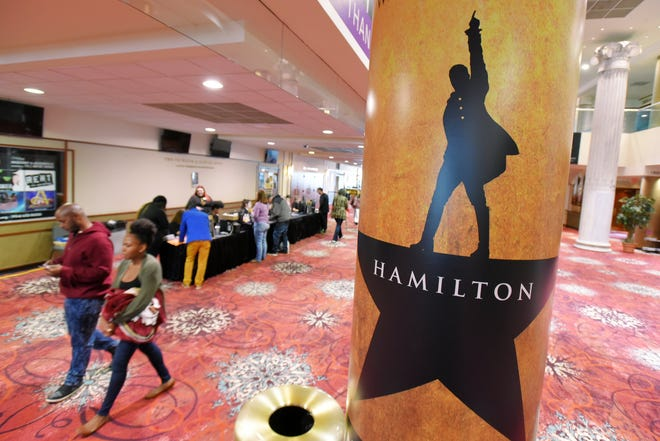 """""""Hamilton,"""" scheduled to play in the spring, has been postponed until September 2021."""