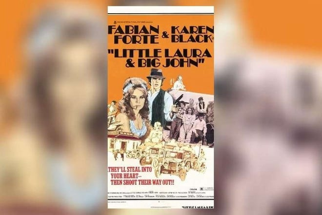 """Poster for """"Little Laura and Big John, a movie shot on the Treasure Coast and loosely based on the John Ashley gang. [Archives]"""