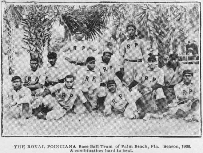 The Royal Poinciana baseball team of Palm Beach, 1906 season.